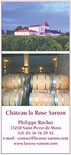 Château La ROSE SARRON