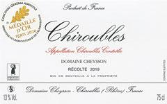 Domaine Émile CHEYSSON