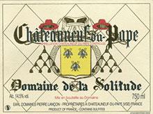 Domaine de la SOLITUDE