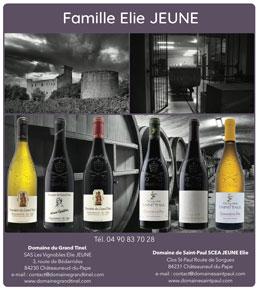 CHÂTEAUNEUF-DU-PAPE Famille Elie JEUNE