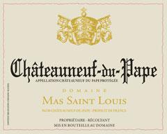 Domaine MAS SAINT LOUIS