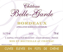 Château BELLE GARDE